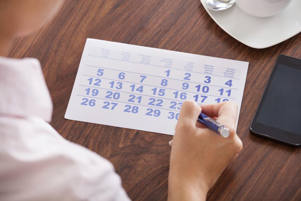 経理標準化のためのテクニック -日単位でのスケジュール管理-